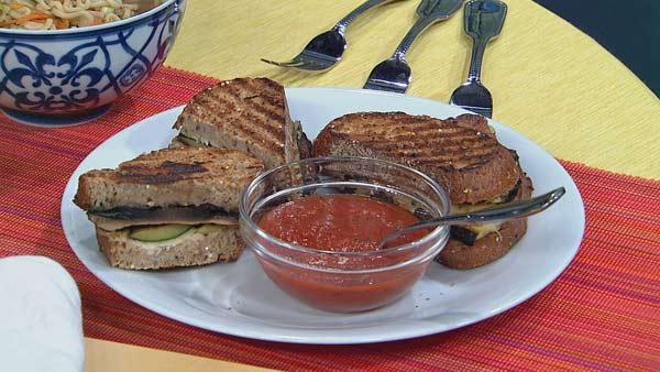 Grilled Vegetable Panini | Let's Dish | The Live Well Network