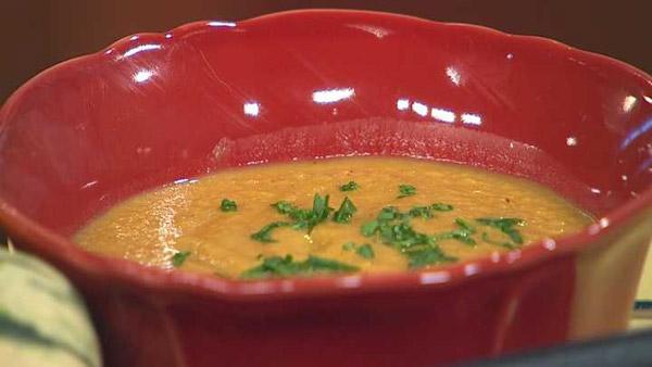 Tart Apple and Pumpkin Soup