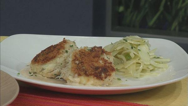 Crab Cakes with Citrus Mustard Sauce