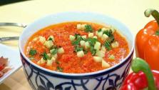 Red Pepper Gazpacho