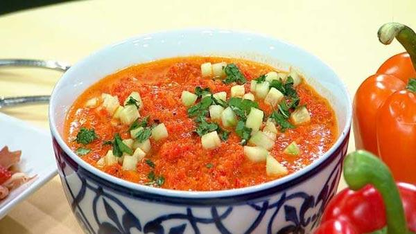 Red Pepper Gazpacho