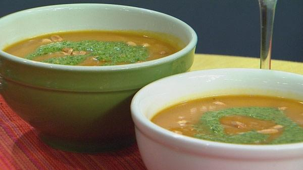 Jamaican Sweet Potato Soup