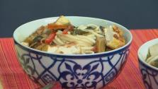 Spicy Tofu and Swiss Chard Hot Pot