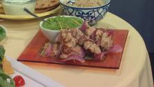 Tandoori Chicken Naan Sandwiches