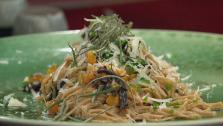 Winter Chestnut Pasta with Mushroom and Squash