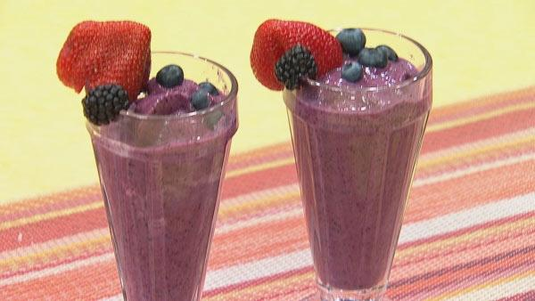 Healthy Fruit Milkshakes