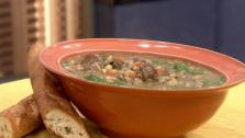 Lamb Mushroom Soup