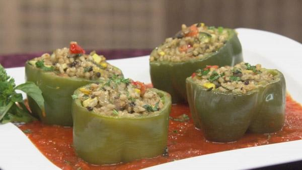 Guilt-Free Veggie Stuffed Peppers