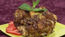 Chocolate Chunk Cinnamon Bread Pudding