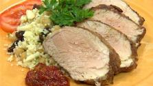African Spice Rubbed Pork Tenderloin