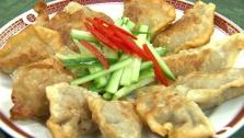 Beef Potstickers with Dipping Sauce