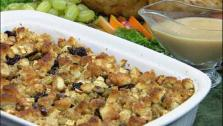Apple Dried Fruit Sage Stuffing
