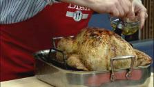 Roasted Turkey with Spice Rub and Beer Gravy