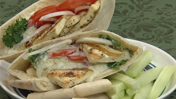 Tofu Stuffed Pita