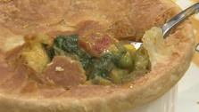 Curried Vegetable Pot Pie