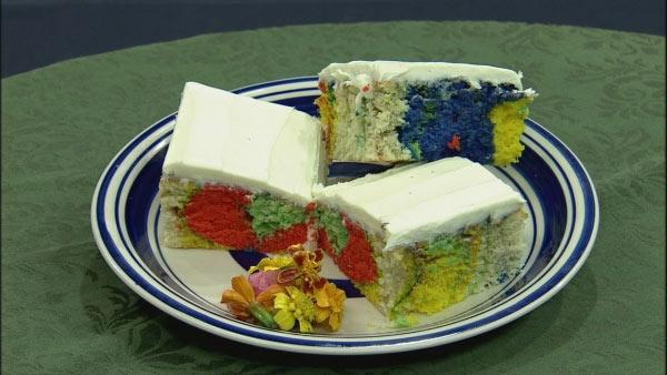 Colored Cake