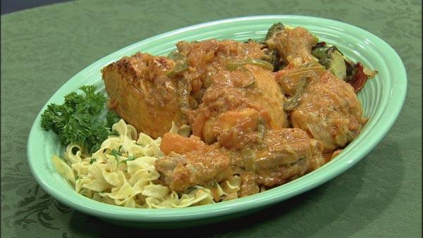 Chicken Paprikash Recipe | Let's Dish | The Live Well Network