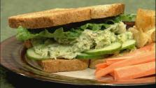 Yogurt and Avocado Tuna Salad Sandwich