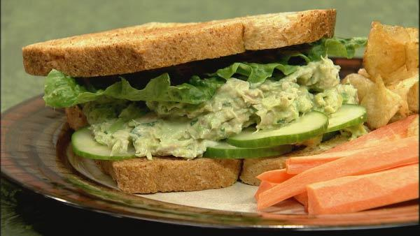 Tuna Salad Sandwich | Let's Dish | The Live Well Network