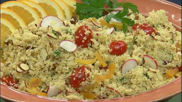 Citrus Cous Cous Salad