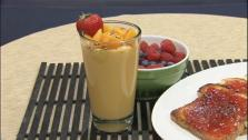 Mango and Pineapple Sweet Potato Smoothie