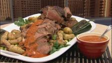 Mexican-Influenced Roast Leg of Lamb
