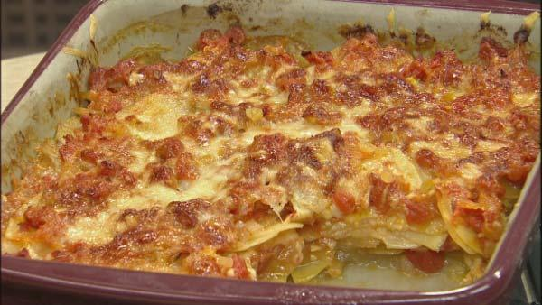 Provencal Tomato and Potato Gratin Recipe