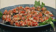 Mussels with Red Pepper and Tomato Vinaigrette