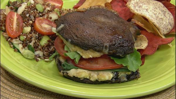 Portobello Burger with Savory Balsamic Marinade Portobello Burger with Savory Balsamic Marinade new pictures