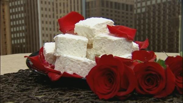 Rose Marshmallows