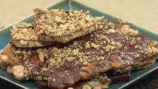 Chocolate Peanut Brittle