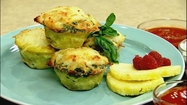 Egg and Potato Muffins