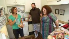 Raiding Marnis Refrigerator