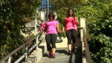 Sharon and Ali Run the Stairs
