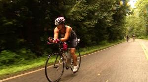 Ali Competes in Half Ironman