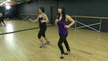 Ali Vincent Gets Dance Lesson From Dancing with the Stars Cheryl Burke