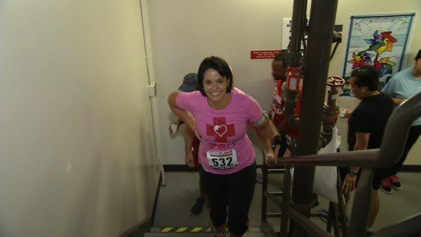 Ali Vincent Starts Fight For Air Climb