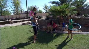 Ali Vincent Takes Trip Down Memory Lane in Arizona