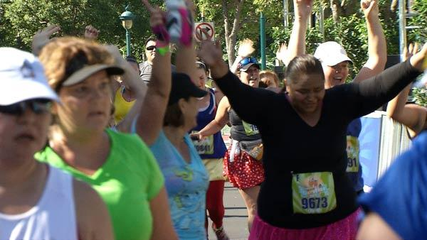 Ali Pushes Carmen to Finish Half Marathon
