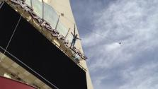 Web Exclusive: Ali Vincent Jumps Off Stratosphere