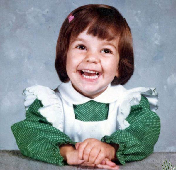 Ali at 2 years old. This is her Mom Bette-Sue's...
