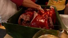 Slow-Roasted Yucatecan Pig in a Pit