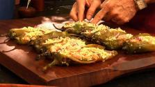 Shrimp Chiles Rellenos
