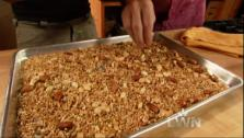 Rick Bayless uses the golden honey to make his Mexican-style granola.