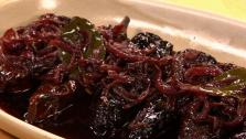 Ricotta-Stuffed Ancho Chiles with Red Wine Escabeche