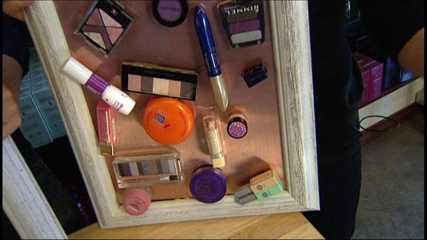 Magnetic Beauty: Organize Your Makeup