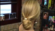 Hourglass Updo Hairstyle