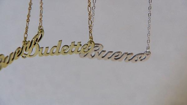 Personalized Hand Stamped Necklaces Custom Name