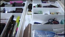 If your bathroom is cluttered and disorganized, here are some great tips from a professional organizer on how to streamline and organize your makeup, beauty products and tools.
