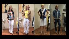 90 Outfits From Your Closet, What To Eat Before You Workout, Wearing Blue Eye Shadow, Denim on Denim Trend, DIY Nail Art